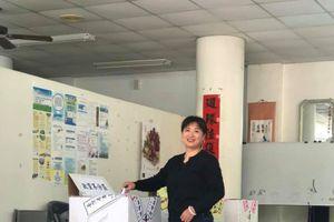 記者悄悄話/立委敗選 蔡培慧還是回家了