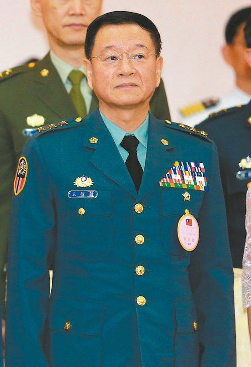 國防大學校長王信龍。 圖/聯合報系資料照片