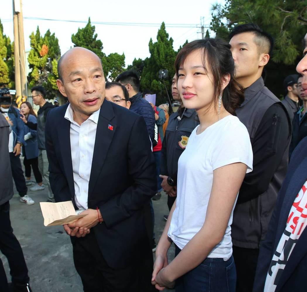 罷韓戰場才要開始,韓此時此刻若是參選黨主席,恐讓自己再陷信任危機。圖/聯合報系資...