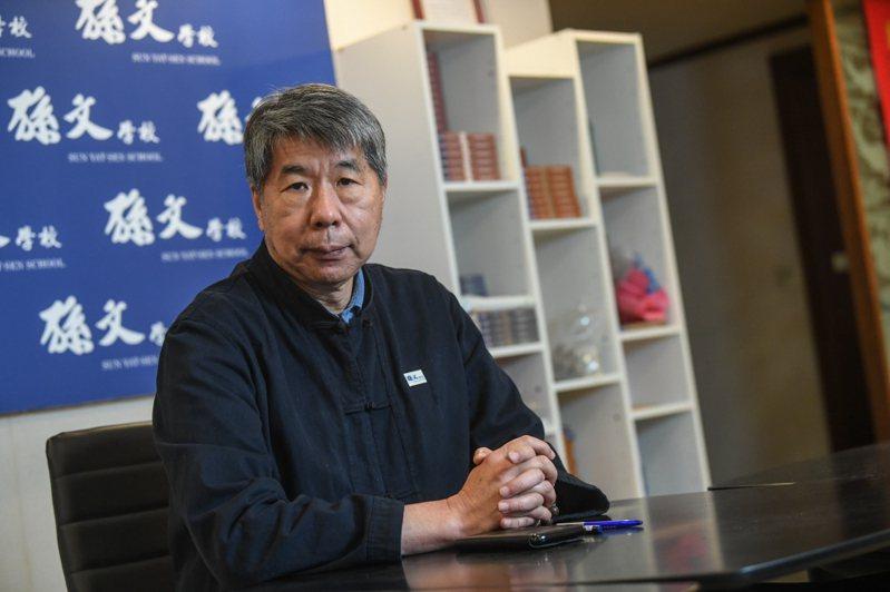 孫文學校校長張亞中在臉書宣布,將參選國民黨主席。 中通社