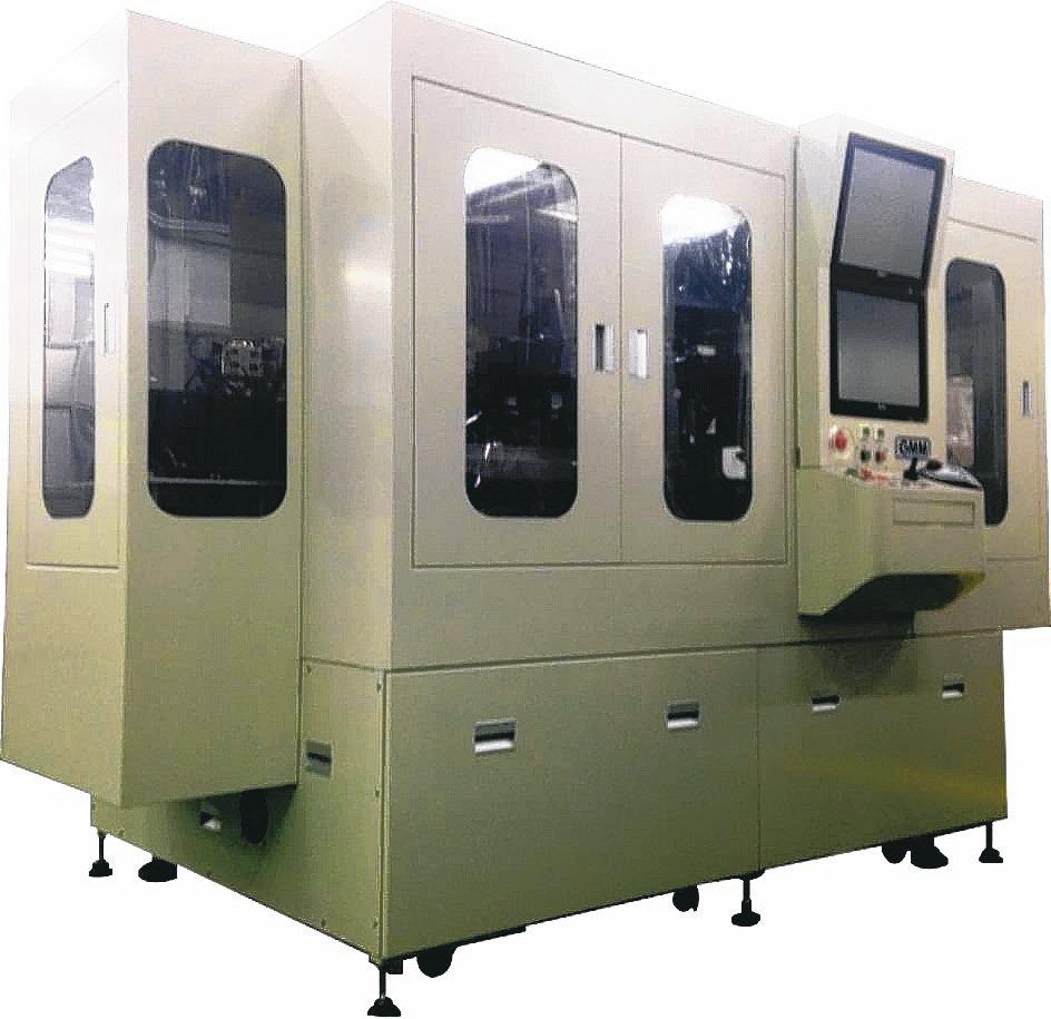 均華針對先進半導體製程,開發六面檢查機。 均華/提供