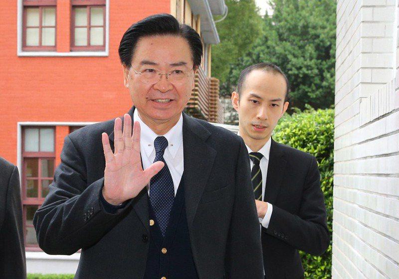 外交部長吳釗燮。 聯合報系資料照/記者陳柏亨攝影