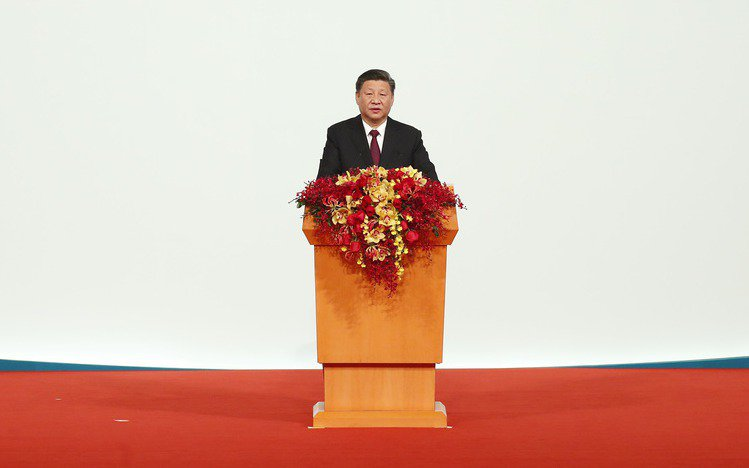中共中央總書記、國家主席習近平。 中新社