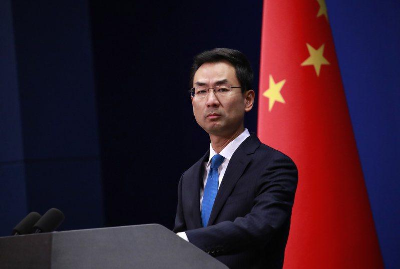 中國外交部發言人耿爽。 歐新社資料照