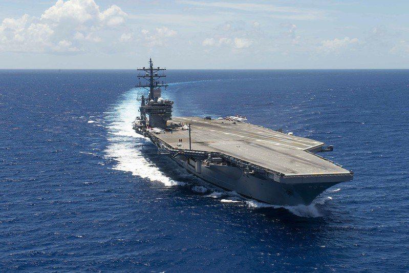 美艾森豪號航母。 圖/取自美國國防部