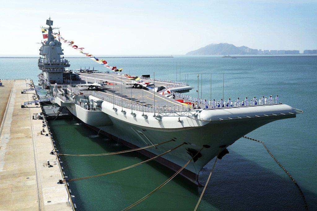 中國國產航空母艦山東號。 圖/新華社