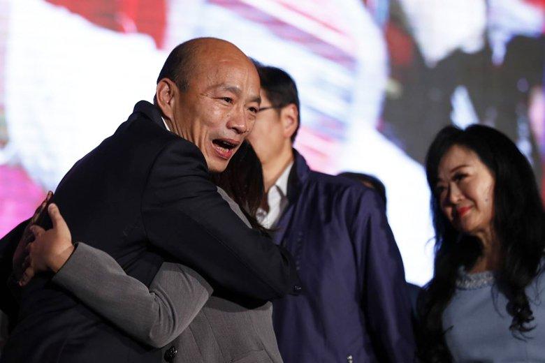 不論保守或進步派報紙,共同出現的問題,在於並未對韓國瑜訴諸民粹,甚至多次違背承諾有所說明。 圖/歐新社