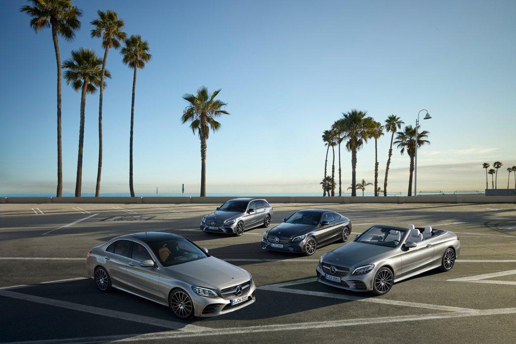Mercedes-Benz C-Class車系去年銷量小幅衰退0.9%。 摘自M...