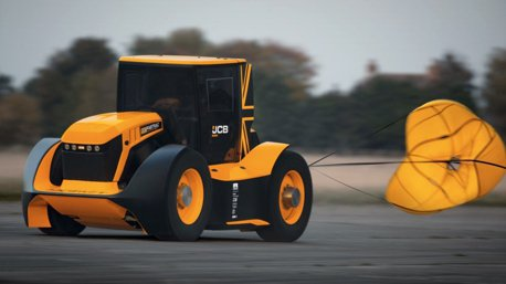 影/地表最速農耕車!超猛1,016匹馬力JCB Fastrac Two!
