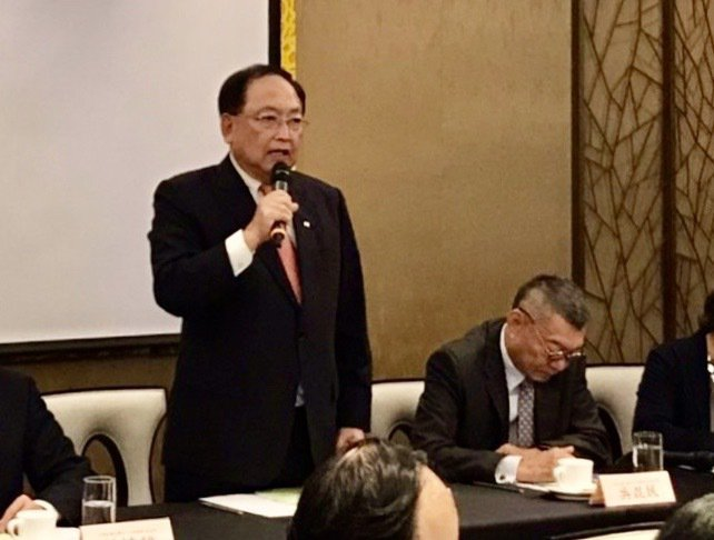 全國中小企業總會理事長李育家表示,中小企業受到本次疫情波及。 資料照/中小企業總會提供