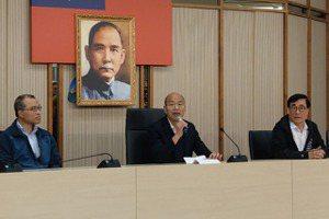 「對市民抱歉」 韓國瑜今回市府上班:沒規畫選黨主席