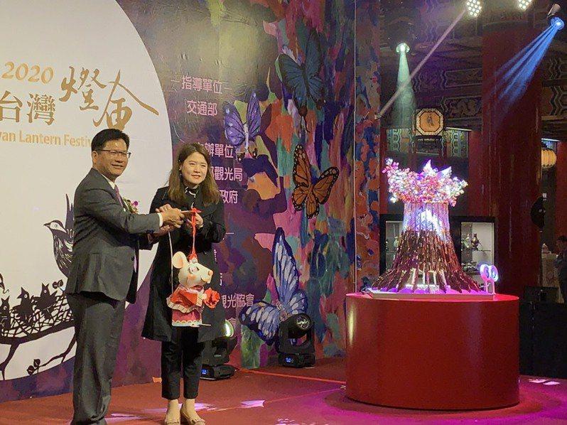 台灣燈會邁入第31屆,交通部觀光局要讓「2020台灣燈會」突破以往年更接地氣,融入全球環境保護的概念,為創新升級。 記者楊文琪/攝影