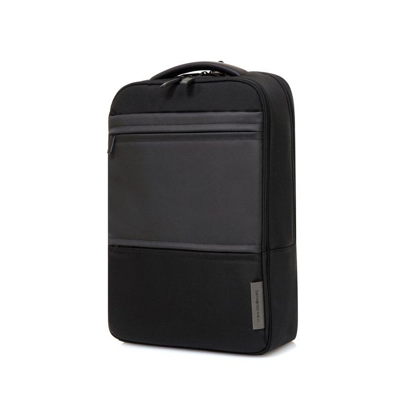 Samsonite RED CALVAD黑色後背包6,980元。圖/Samsonite提供