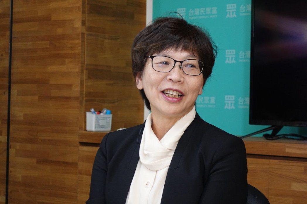 民眾黨立委當選人蔡壁如。記者邱瓊玉/攝影