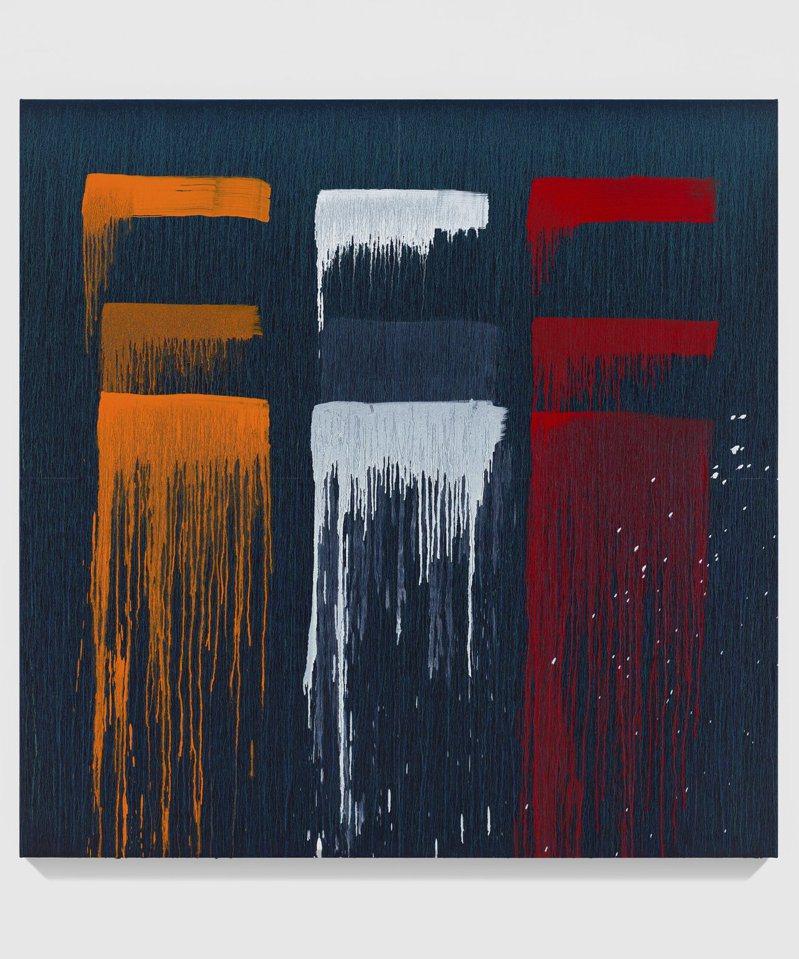 帕特‧斯蒂爾最新作品「台北」系列,2019。圖/厲為閣畫廊提供