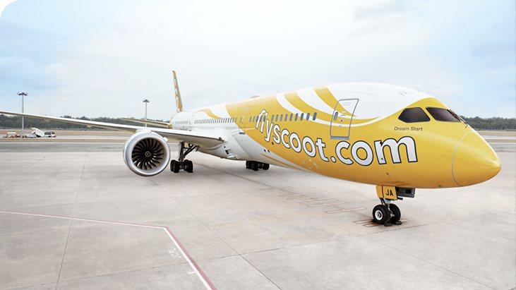 酷航推出飛常酷促銷活動,飛首爾來回含稅3,500元左右。圖/酷航提供