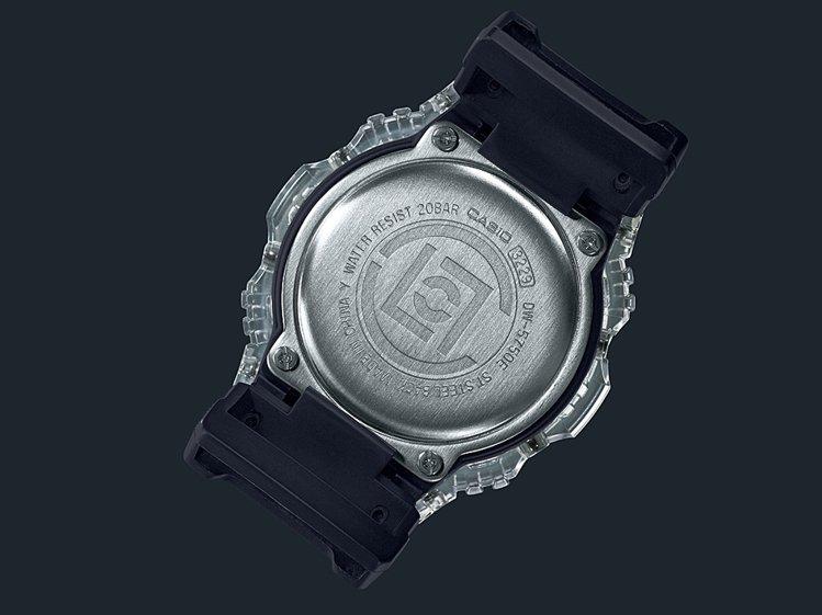 G-Shock DW-5750腕表,底蓋鐫刻了CLOT的標誌。圖/Casio提供