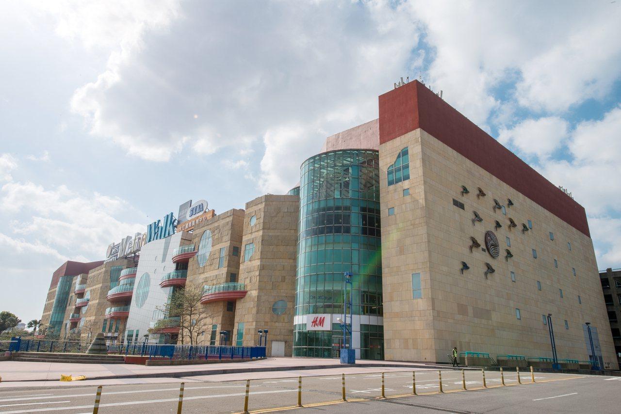 大江購物中心外觀。業者/提供