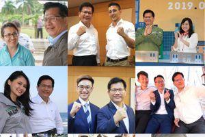 民進黨大勝 林佳龍讚洪慈庸蕭美琴「青年參政榜樣」