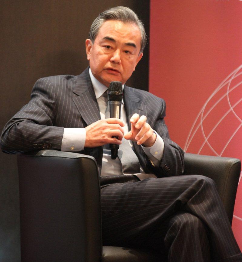 曾任大陸國台辦主任的現任大陸外長王毅。(中新社資料照)