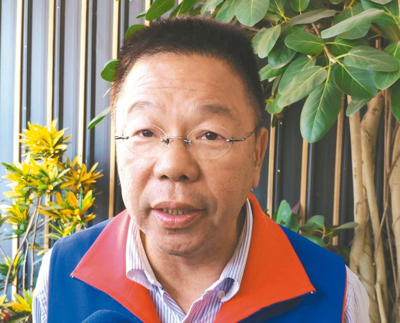 參選立委落敗的國民黨台南市議員蔡育輝,昨宣布要招募新血。 記者謝進盛/攝影