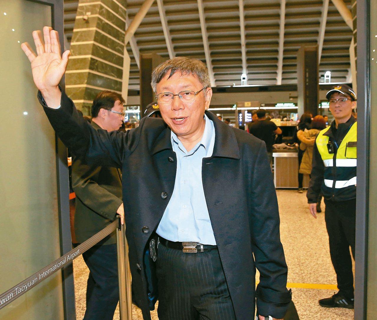 台灣民眾黨在國會拿下五席,黨主席柯文哲昨表示,下個目標,2022選舉遍地開花。 ...