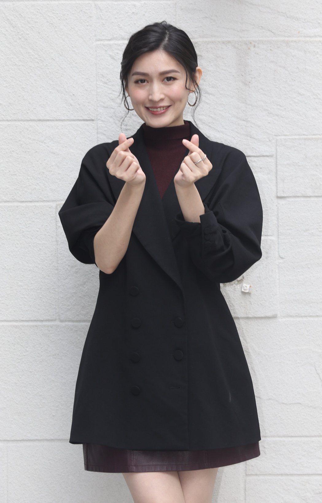 公視新創電影《4X相識-隨片登台》,演員管罄。記者林俊良/攝影