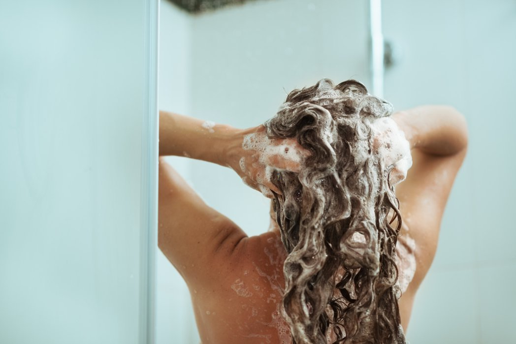 洗髮示意圖。圖/ingimage