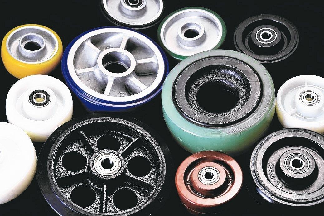 和輪工業「HO」品牌讓使用者有更多元的選擇,採購最適用的腳輪。 和輪公司/提供
