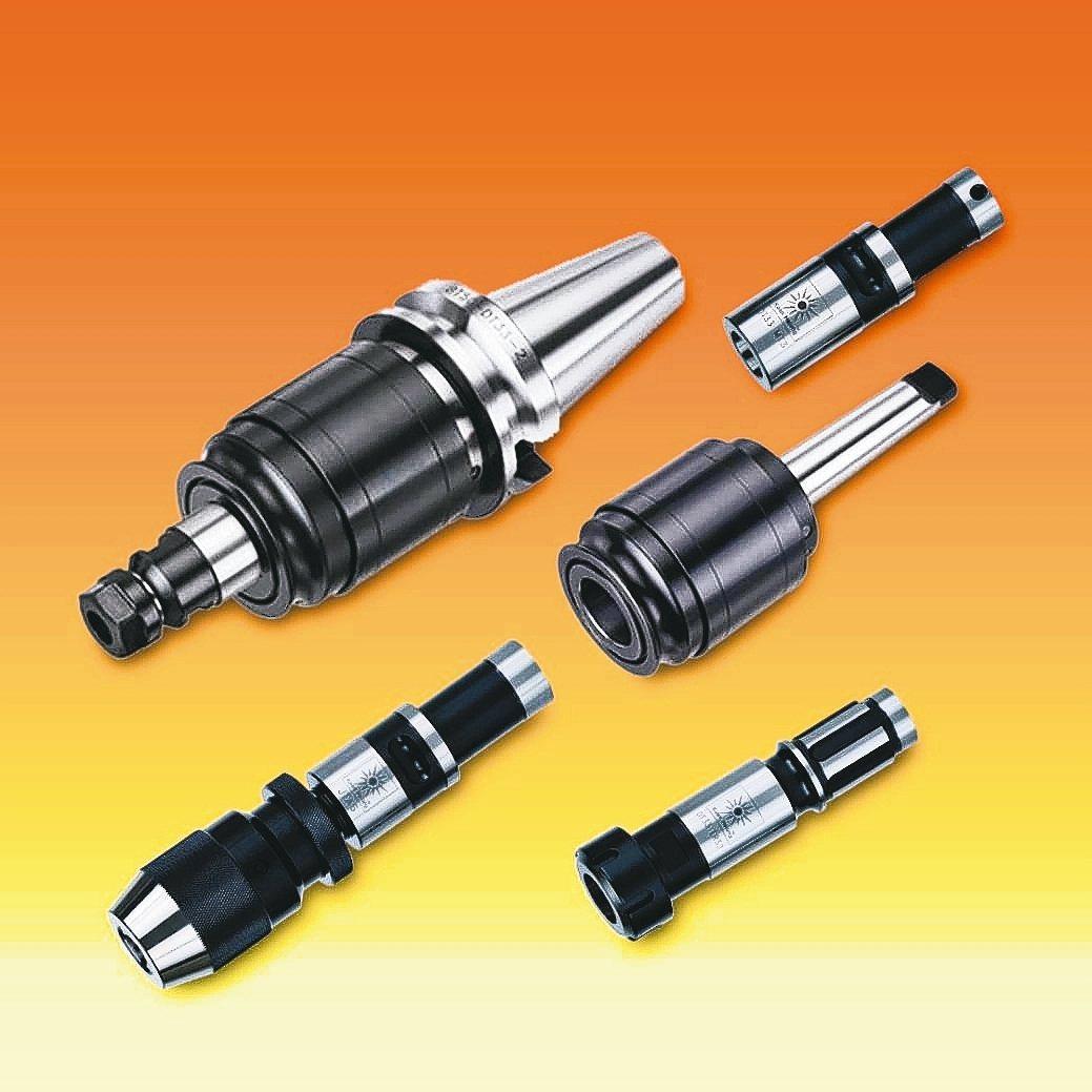 冠雄工業研發的鑽孔攻牙器,可依需求組合。 冠雄工業/提供