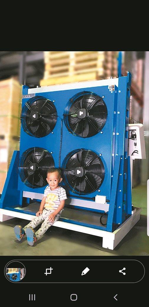 庫林主動恆溫免過濾切削液冷卻機廣受大廠青睞。 庫林公司/提供