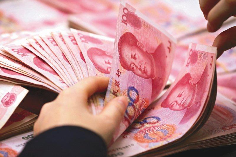 交通銀行台北分行認為,人民幣漲勢可望延續。 聯合報系資料照片