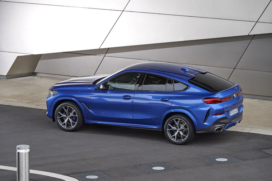 全新第三代BMW X6。 摘自BMW