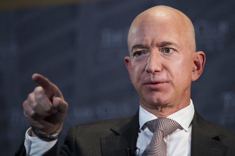 亞馬遜執行長貝佐斯(Jeff Bezos)。美聯社