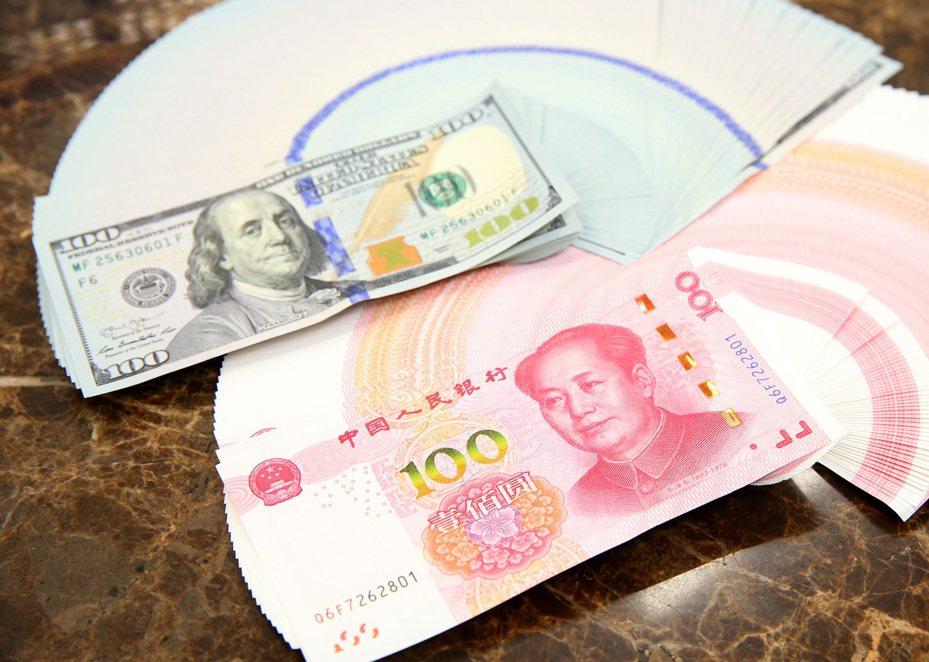 美國財政部宣布,中國大陸不再列為匯率操縱國,但納入「觀察名單」。記者林澔一/攝影