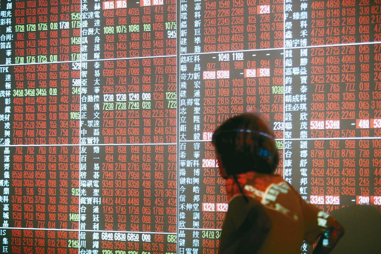 台股今日反彈,被動元件族表現亮眼。 圖/聯合報系資料照片