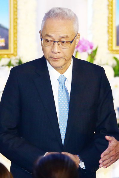 國民黨黨主席吳敦出席黑應殉職將士公奠典禮。聯合報系記者杜建重/攝影