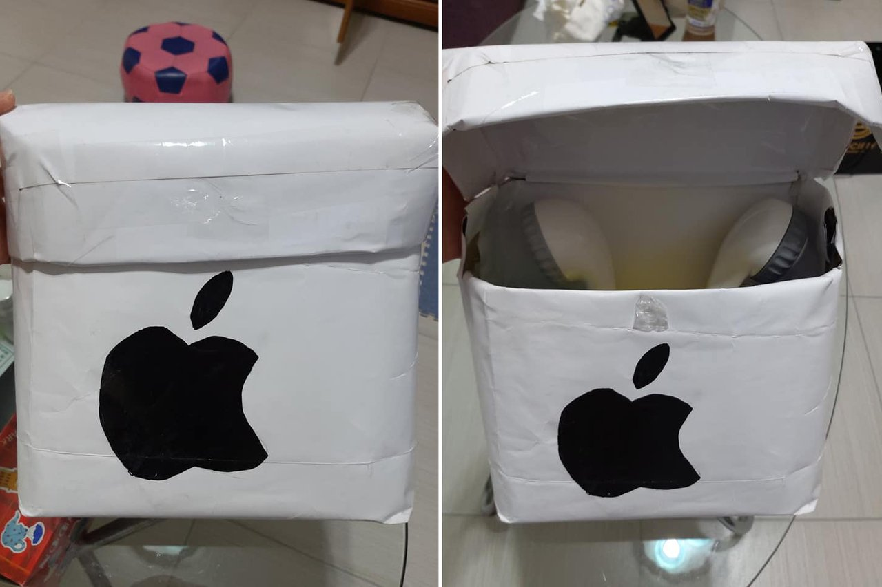 一名女網友和同事玩交換禮物,收到後卻讓她很傻眼。 圖/翻攝自爆怨公社