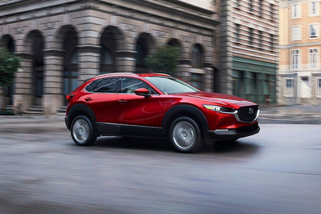 新全球戰略休旅CX-30已經導入美國市場,使今年銷售量備受關注。 圖/Mazda...