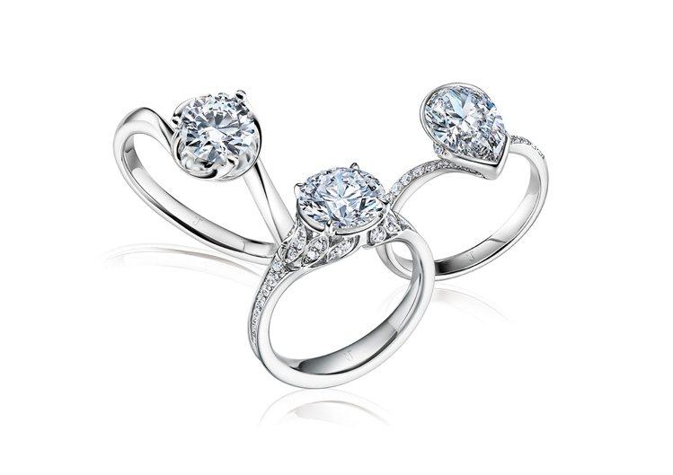 ▲「未來鑽石」是在實驗室中培育出化學、物理特性均與開採鑽石相同的真鑽石。 圖片來...
