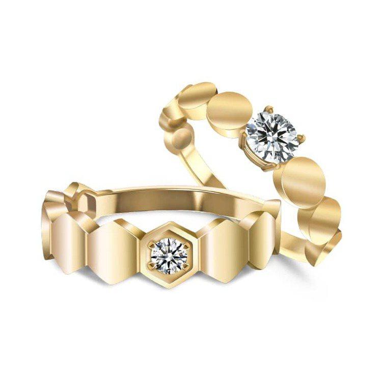 ▲「未來鑽石」經過顏色、淨度、克拉與車工4C等級品質認證。 圖/Diamond ...