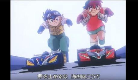 那些年我們曾經看過的賽車動畫(1)《爆走兄弟》