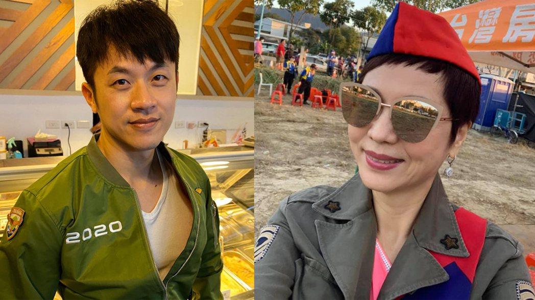 「焦糖」陳嘉行反嗆熊海靈。圖/擷自臉書