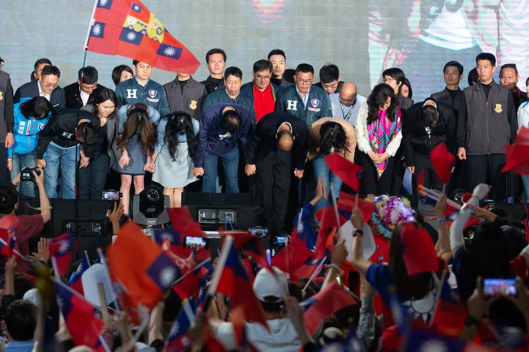 2020選舉國民黨大敗,韓國瑜輸蔡英文200多萬票。 圖/聯合報系資料照