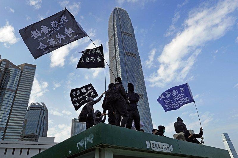 有者認為,只有結合中國的抗爭力量和支持,香港才會有機會贏得長遠的勝利。 圖/美聯社