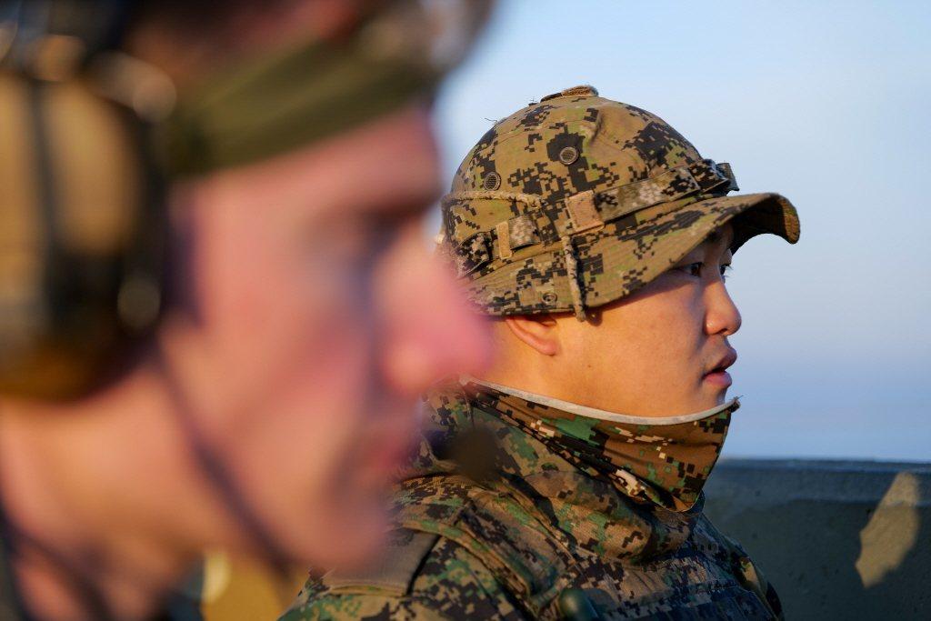 南韓並未打算和美國徹底決裂,而是為降低北韓核武器的威脅,才決定和中共簽訂防禦條約。圖為2019年美韓聯合軍演。 圖/路透社