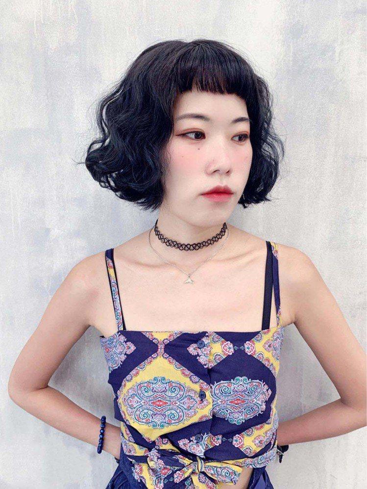 髮型創作/默·MO HAIR / miumiu,圖/StyleMap美配提供