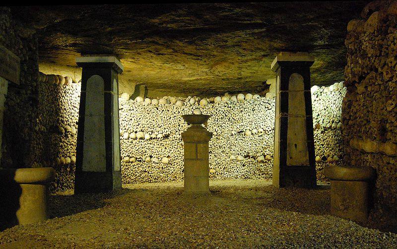 巴黎地下墓穴已成為人氣景點 / 來源 : wikimedia
