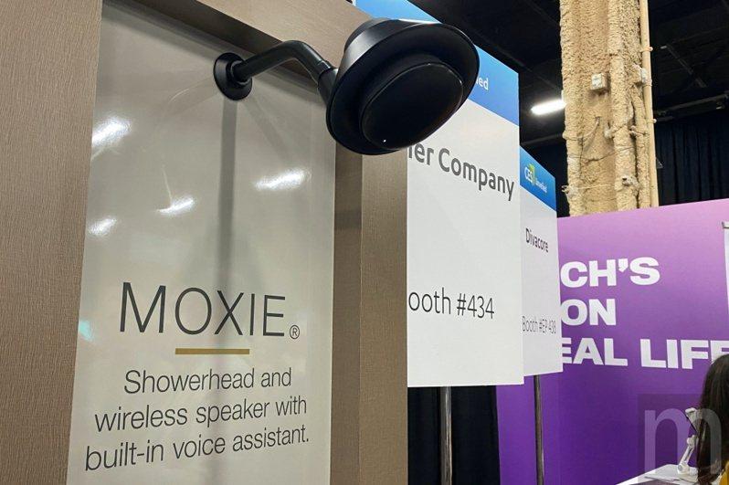 Kohler打造的蓮蓬頭喇叭MOXIE