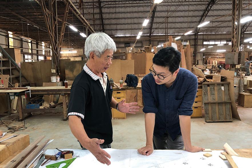 永興家具攜手新銳設計師 見證台灣榫卯工藝